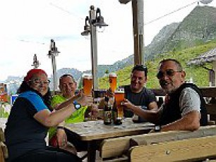 Dolomiti Alta Via n. 2 dal 3 al 6 agosto 2018