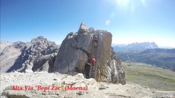 ALTA VIA BEPI ZAC – LA GRANDE GUERRA DENTRO LA MONTAGNA Via Ferrata sulla Cresta Costabella – Due giorni in Val di Fassa
